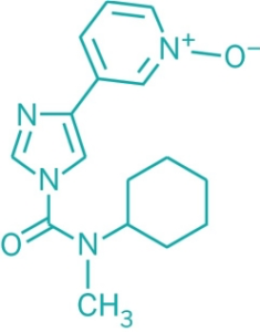 BIA 10-2474 is an experimental fatty acid amide hydrolase inhibitor. It interacts with the human endocannabinoid system.