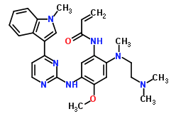 Osimertinib chemical structure