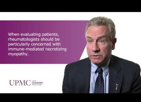 Myopathie nécrosante immuno-médiée associée aux statines