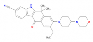Alectinib chemical structure