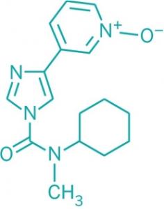 Chemische Struktur von BIA-10-2474