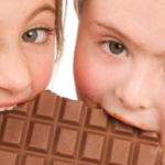 Sweet taste receptor gene TAS1R2 and chocolate powder