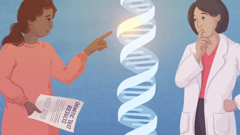 After an over the counter genetic test: Would you make serious health decisions?
